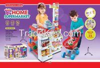 2015 new children luxury supermarket play set toys