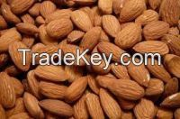 Almonds, roasted and Raw