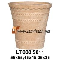Vietnam Poly Rock Garden Planter