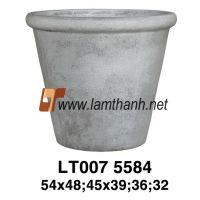Quality Fiber Wash Solid Pot