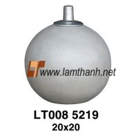 Poly Sphere Oil Lamp