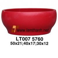 Solid Fiber Cement Home Decor Bowl