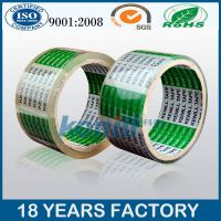 strong adhesive crystal bopp packing tape