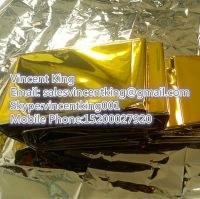gold/silver rescue survival blanket for first aid