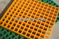 fiberglass grille, fiberglass geogrid, fiberglass grating