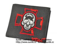 printed wallet and purse
