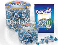 Coco Great filled coconut soft candy P.jar