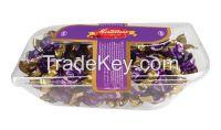 Miramis mica puffed rice cocolin red, brown, yellow, purple
