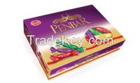 Penbar filled cocolin, purple, red, green, cream Gift Pack