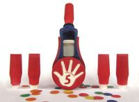 Confetti High Fives! The FiestaFive - Reloadable, Biodegradable, Colorful, Customizable