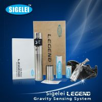 Electronic cigarette manufacturer China sigelei legend with gravity sensing system VV mod personal vaporizer