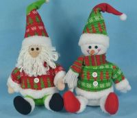 CHRISTMAS SANTA DEER SNOWMAN DEORNAMENT/TOY/DECORATION