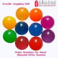 Acrylic Contact Juggling Balls 50mm-150mm Clear Red Blue Yellow Green Glow Balls and so on