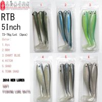Toy Lure Hollow Swim Baits (5 Inch,73-76g/Packet, 3Pcs/Packet Mix-color Packing) Sports and Entertainment Gifts