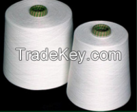 100% cotton raw white yarn