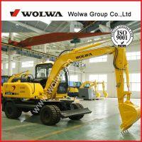 New 8ton wheeled excavator with free sugarcane grab