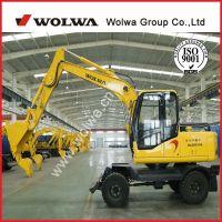8ton excavator with free agricultural sugarcane loader grab