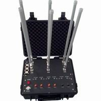 Mobile phone Jammer VHF UHF Portable Military Jammer 400W