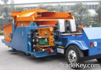 Long-service Life Dry Concrete Automatic Shotcrete/Rubber Wheel Gunite