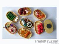 Food shaped fridge magnet