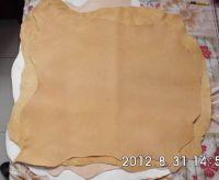 Vegetable Tanned Leather (White Slinksheep Skin)