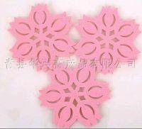 Handmade pure wool felt craft,Cup Mat/Felt decoration/Felt coaster/Felt Ornament