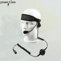Light weight single ear tactical headset PTE-M10