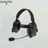 Military Combat Defence Headset with Talk Through and Situational Awareness DF-1