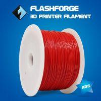 Flashforge 3d printer color red 1.75-1.8mm ABS filament