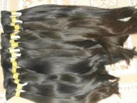 Single drawn Machine weft hair natural straight high quality - Low price