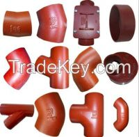 SML Cast Iron DIN19522 Pipe Fittings/KML Cast Iron EN877 Pipe Fittings