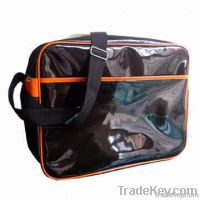 Shoulder Bags with Glossy PVC Material