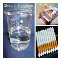 Triacetin for plasticizer of Cigarette Filter Rods