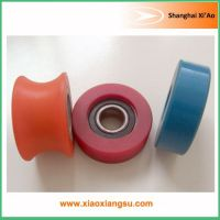 Hardness shore A 95 custom cast polyurethane shaped wheels