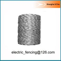 Standard 6 x 0.15mm stainless steel Electric fencing poly wire Economic polywire 500m
