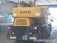 Used KATO KR-25H-V6 Crane   Used Rough Terrain Crane   Used Truck Crane