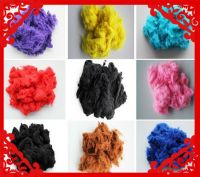 Virgin/Recycled polyester staple fiber In Colors 3D 7D 15D 32MM 64MM