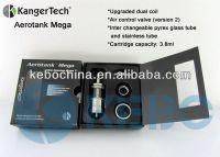 China supplier authorized kanger tech distributor genuine Kanger RBA proTank Aerotank Mega e-cig factory price