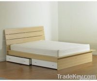 maple MDF drawer bed