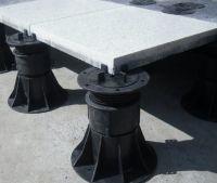 Paving stone slat basement support