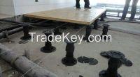 versijack plastic raised floor pedestal
