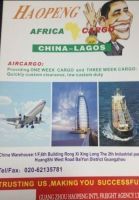 Nigeria (Lagos) Air Freight, Quickly Customs Clearance, HK SV Direct Flight.