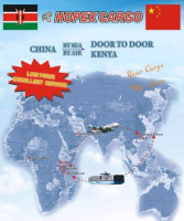 Sea LCL freight Transporting your cargo from Guangzhou to Kenya