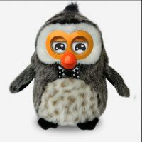 2014 new electronic talking plush toys with multi-languages