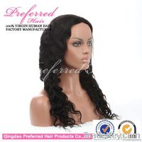 Queen Preferred Brazilian virgin hair full lace wig in stock