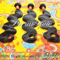 3Bundles Body wave Virgin Human Hair Weft