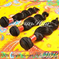 Loose Wave Virgin Human Hair Weft