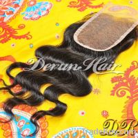 Body Wave Lace Closure Free Parting/Middle Parting