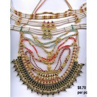 imitation and fashion necklaces