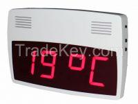 DIGITAL CLOCK and TEMPERATURE INDICATOR